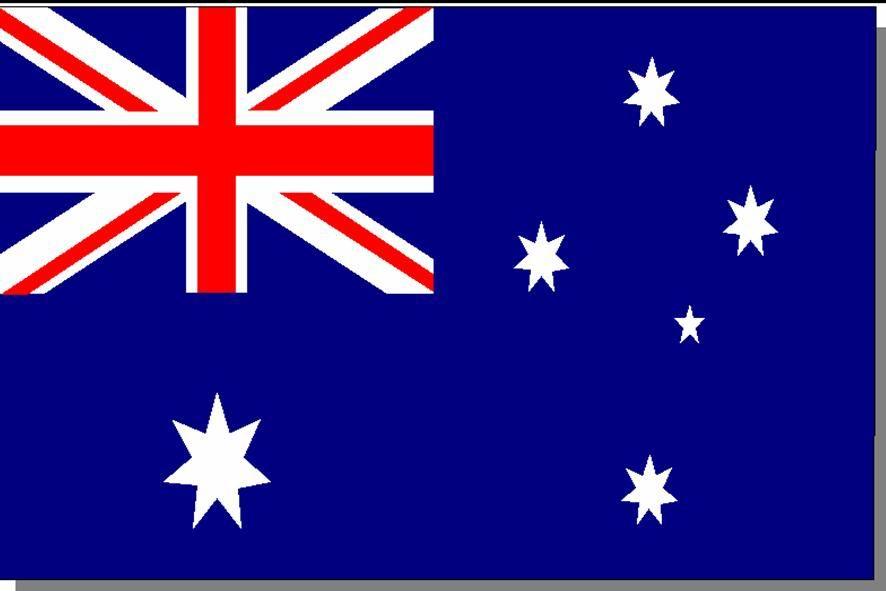 Флаг на австралия